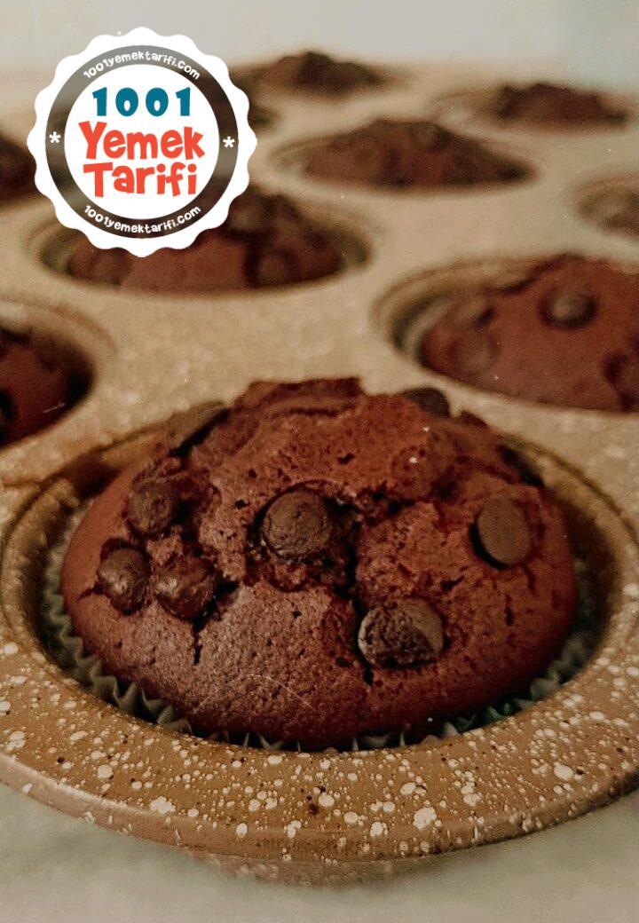 damla çikolatalı muffin nasıl yapılır
