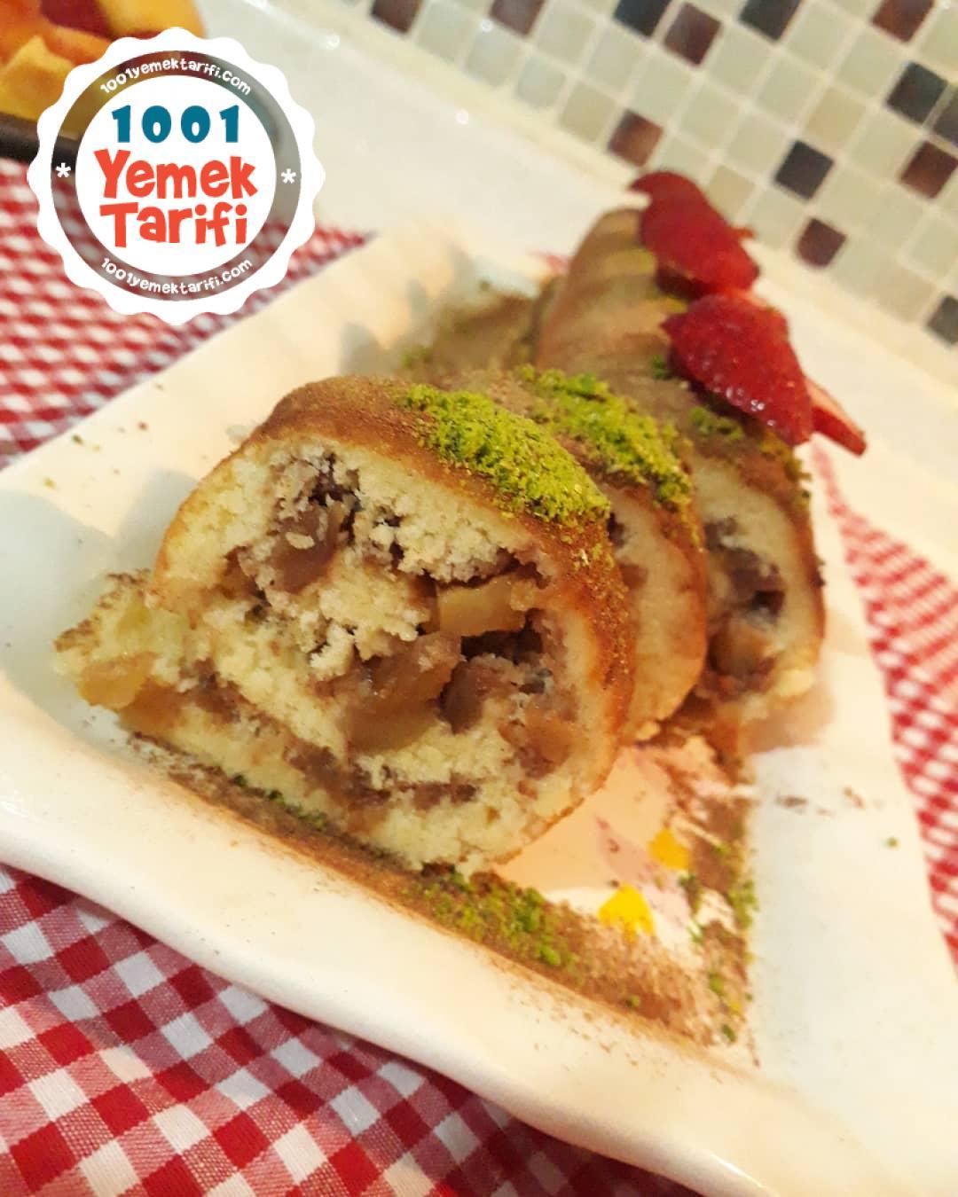 Elmalı Kek Tarifi nasıl yapılır-kolay kek yapımı