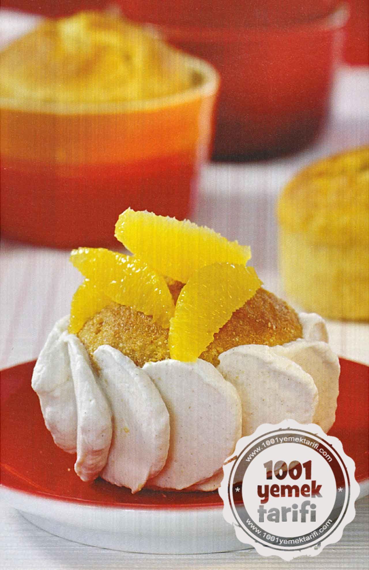 Portakal Likörlü Kek Tarifi