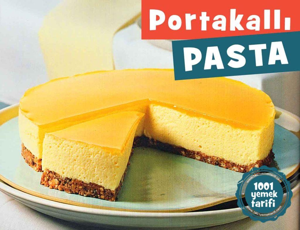 Portakallı Pasta Tarifi (kaç kalori)