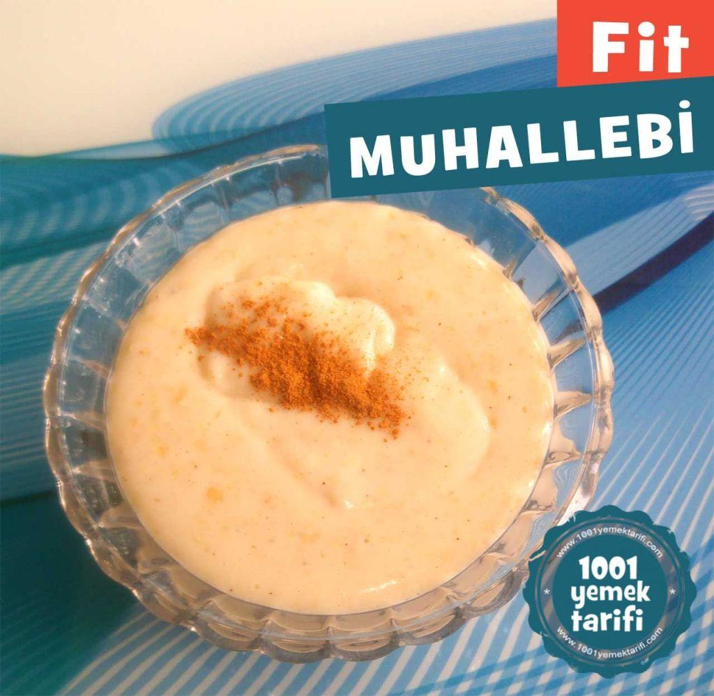 Salepli Fit Muhallebi Tarifi   VİDEOLU