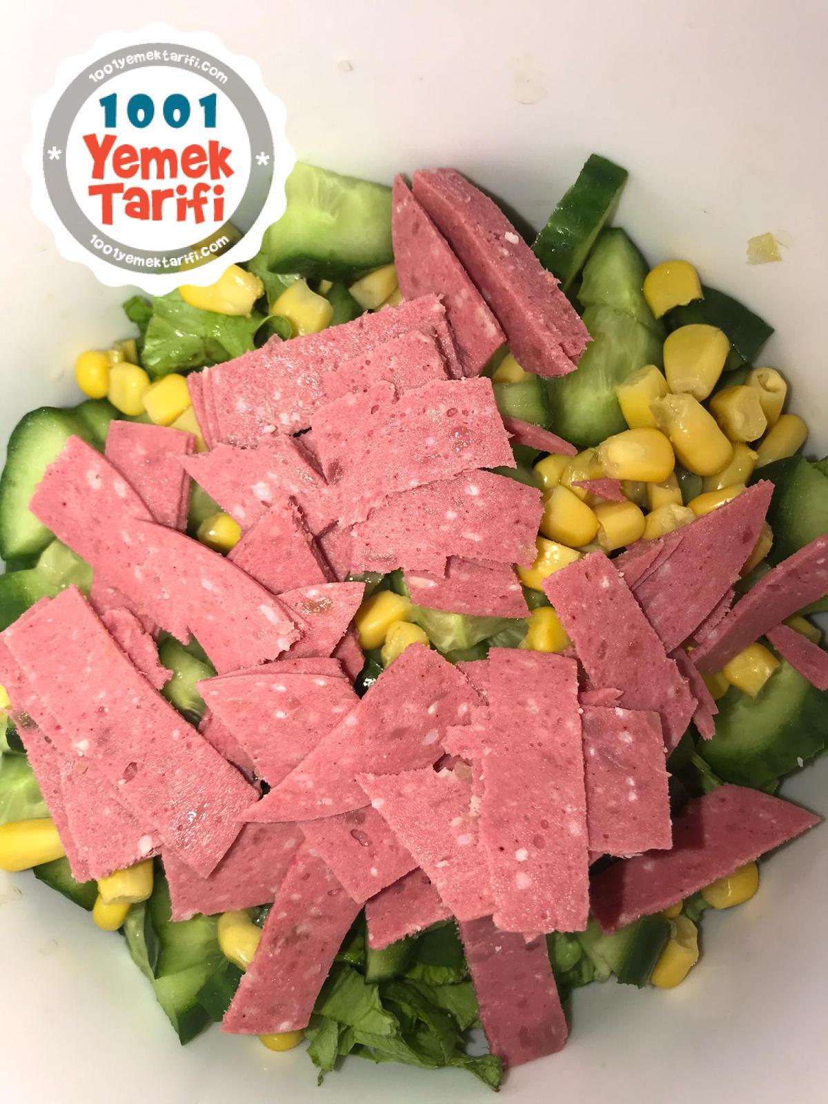 Fit Salata Tarifi nasıl yapılır