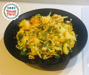 kolay patates salatası tarifi-nasıl yapılır-