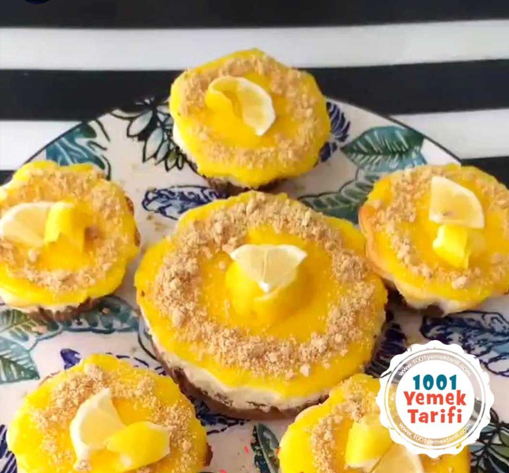 cheesecake tarifi-evde limonlu cheesecake kolay puf noktasi-1001yemektarifi