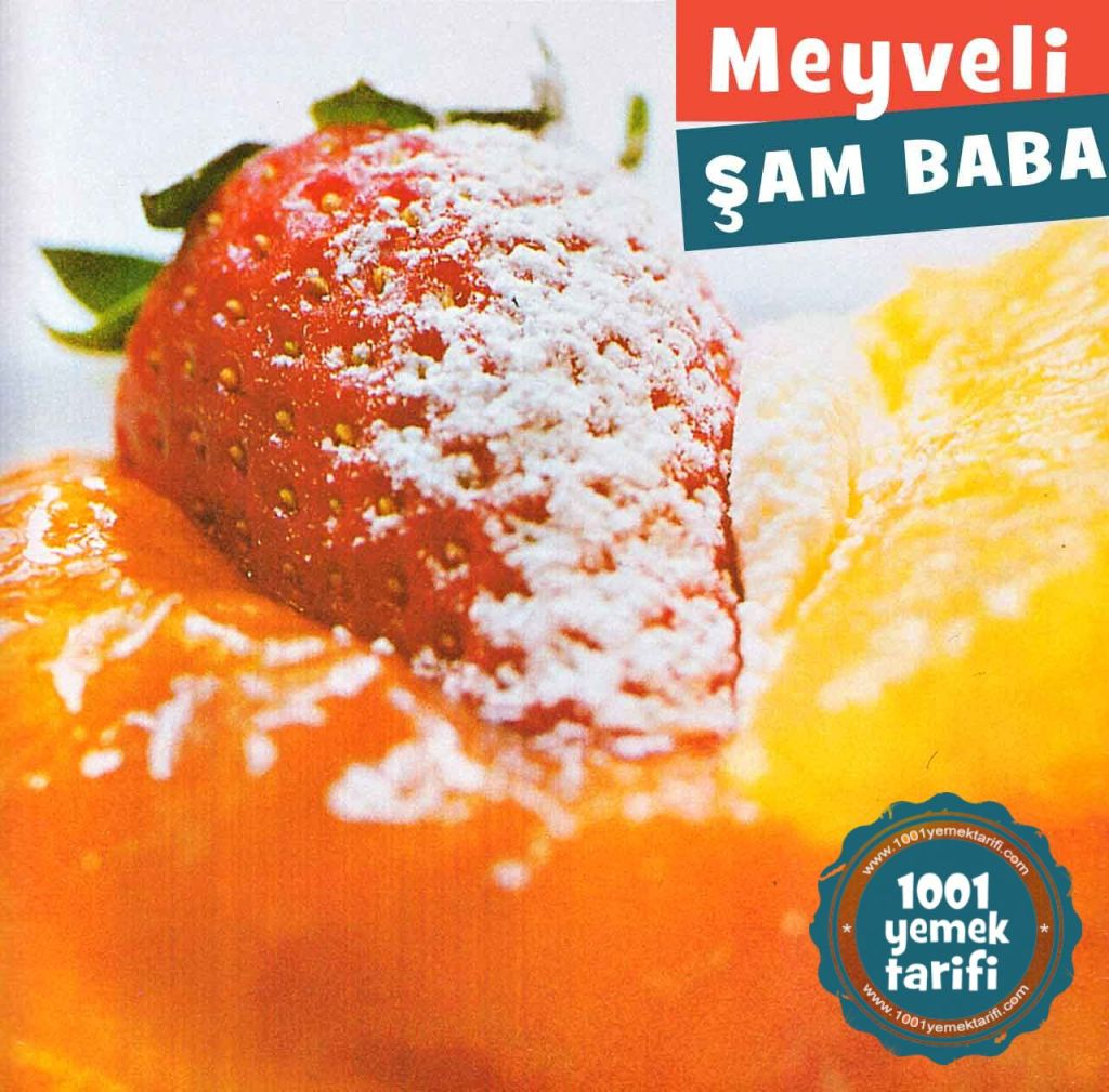 cilekli-portakalli-sam-baba-tatlisi-sambaba-yapimi-nasil yapilir-yapilisi-kac kalori-nefis-kolay-1001yemektarifi