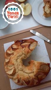 Elmalı Kek Tarifi-nasıl yapılır-kaç kalori-meyveli kek yapımı