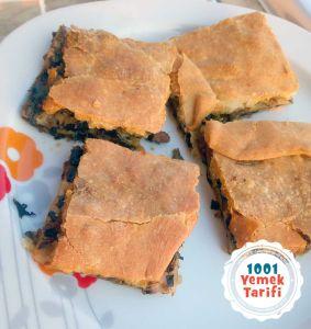 Kıymalı Ispanaklı Börek Tarifi