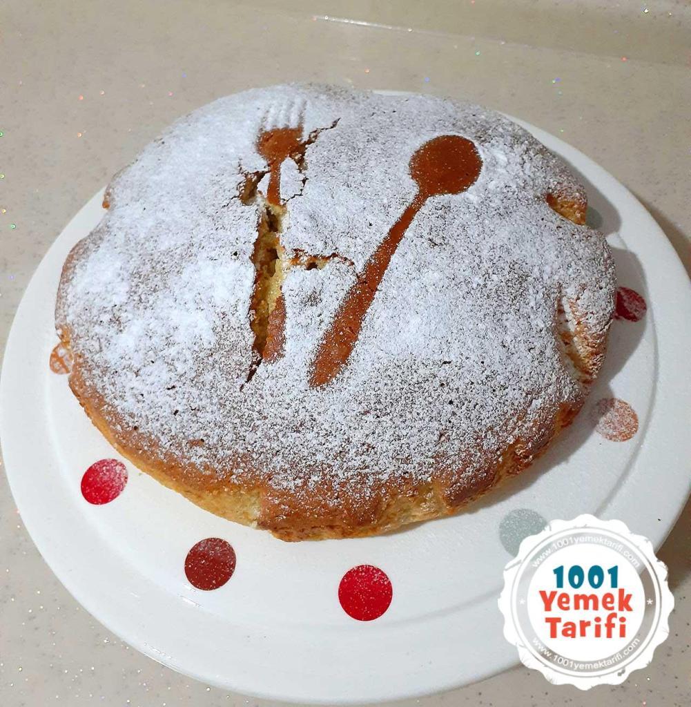 kolay Portakalli Kek Tarifi yapimi-nasil yapilir-kac kalori-puf noktasi