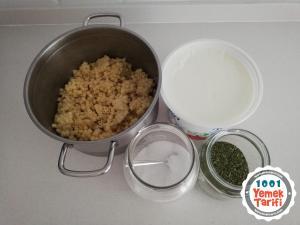 Makarnadan Ayran Aşı Çorbası Tarifi-nasıl yapılır-kaç kalori