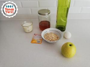 Elmalı Tarçınlı Diyet Kek Tarifi