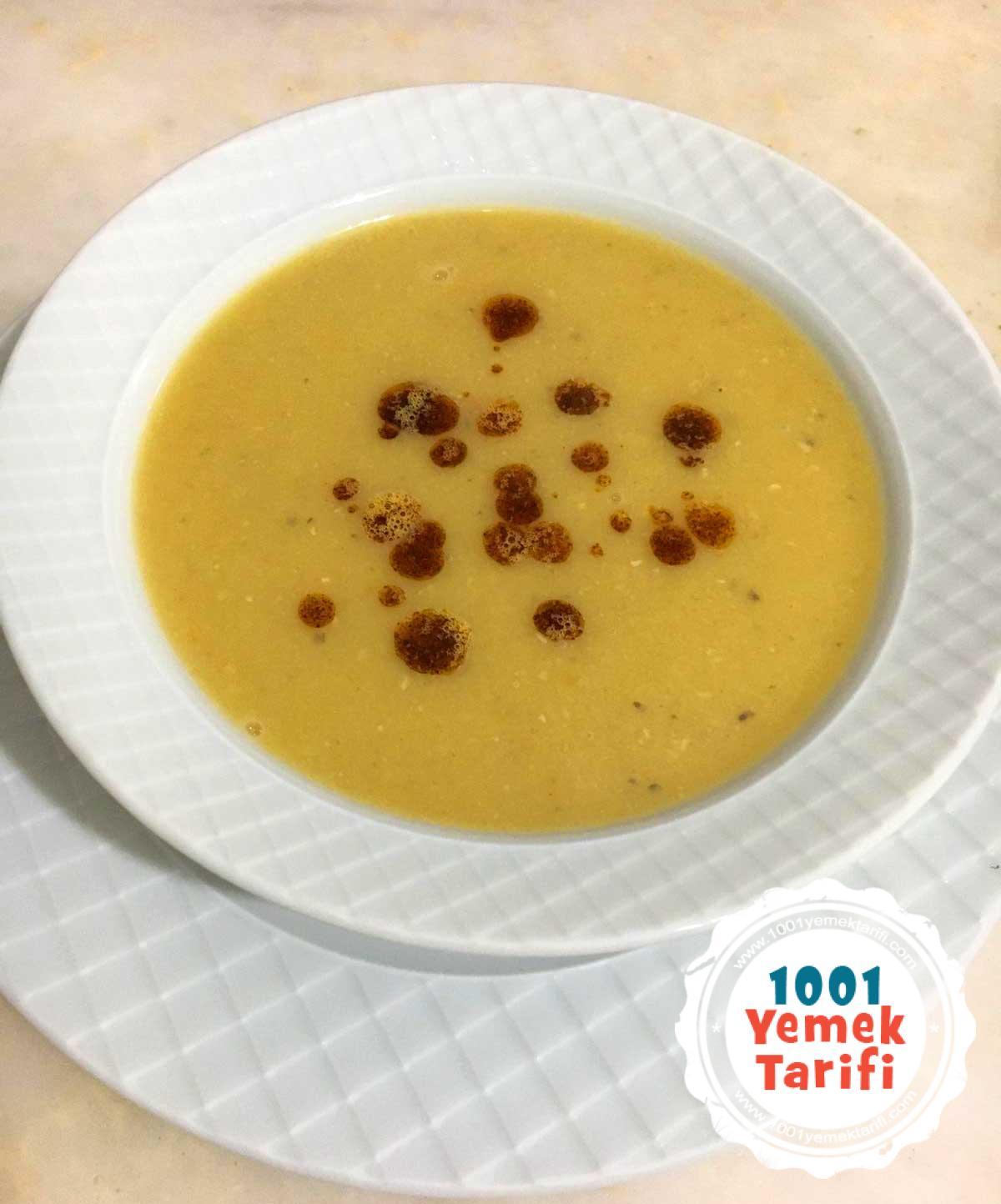 Süzme Mercimek Çorbası Tarifi (nasıl yapılır-kaç kalori)