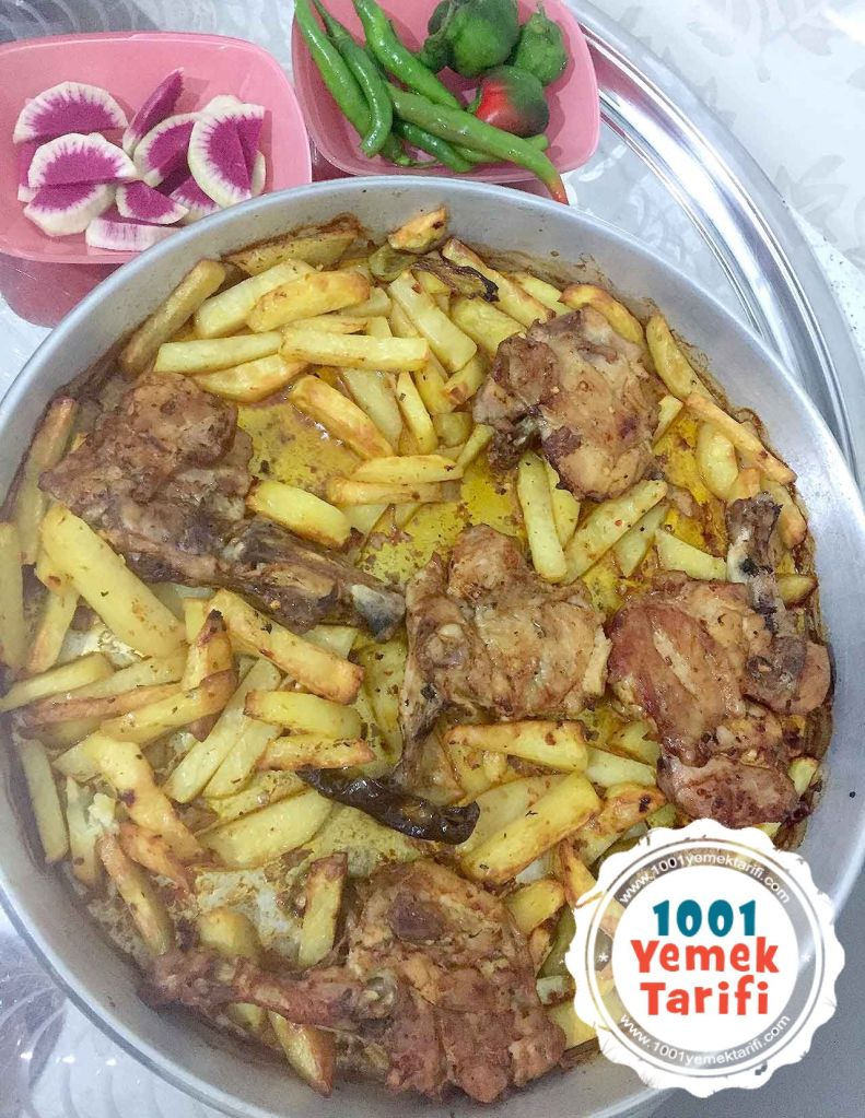 patatesli tavuk kizarrtmasi tarifi yapimi nasil yapilir-kac kalori-1001yemektarifi