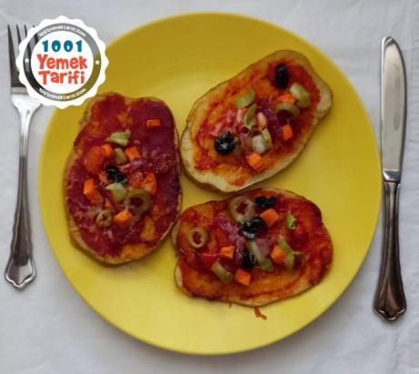 Patates Pizza Tarifi nasıl yapılır-kaç kalori-unsuz vegan pizza