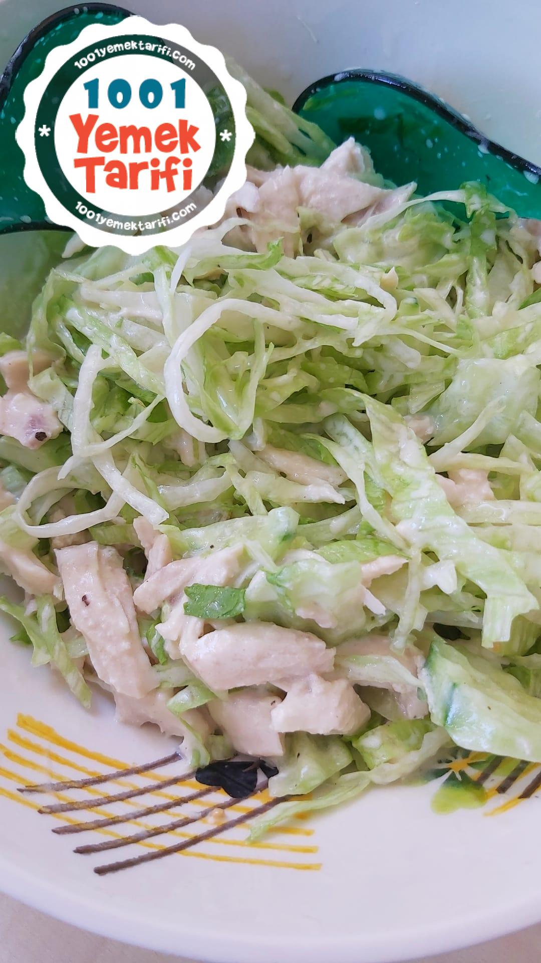 Fresh Tavuk Salata Nasıl Yapılır-diyet tarifler