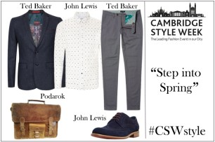 A photograph of a Fashion Show Wish List. Gemma and Emma create regular wish lists for Cambridge Style Week