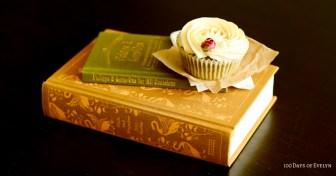 Green Tea Rose Cupcake