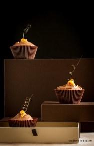 Caramel Spiral Cupcakes