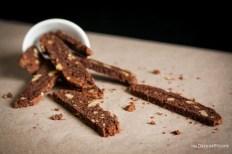 Double Chocolate Walnut Biscotti