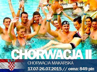 Obóz w Chorwacji Makarskiej II