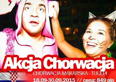 Festiwal imprez na koniec lata – imprezowy obóz w Chorwacji