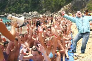 obóz studencki hiszpania Lloret de mar imprezy