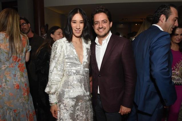 Eva Chen e Carlos Jereissat (1)