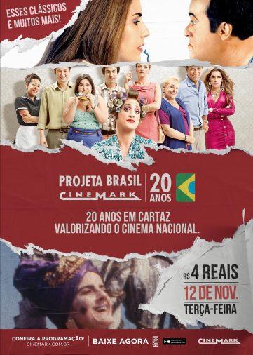 Projeta Brasil | Cinemark exibe filmes nacionais por R$4; confira lista