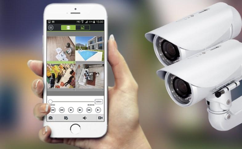 Sistema de vídeo monitoramento da Monital
