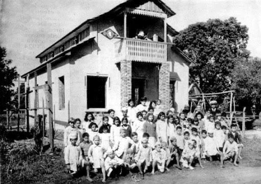 primeira escola municipal Jorge Schimmelpfeng