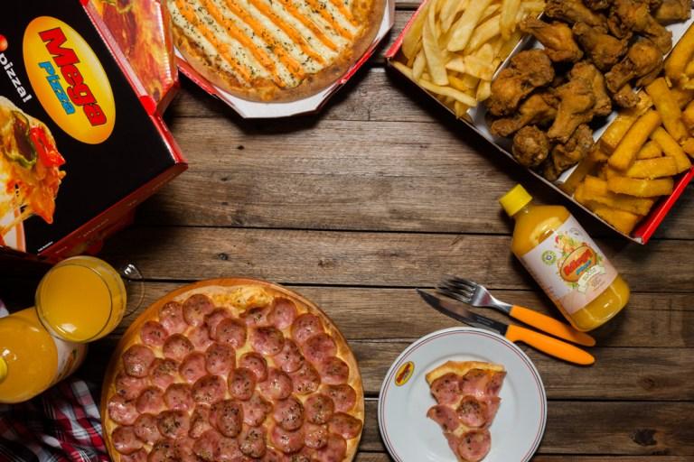 Mega Pizza - capa