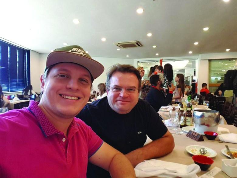 Felipe e Bruce Brussolo