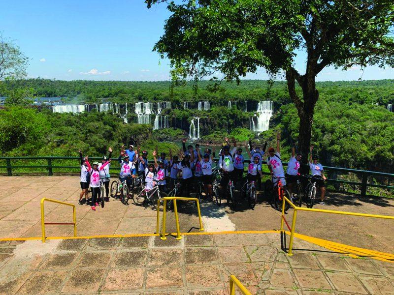 Passeio de bicicleta nas cataratas Fabio Personal