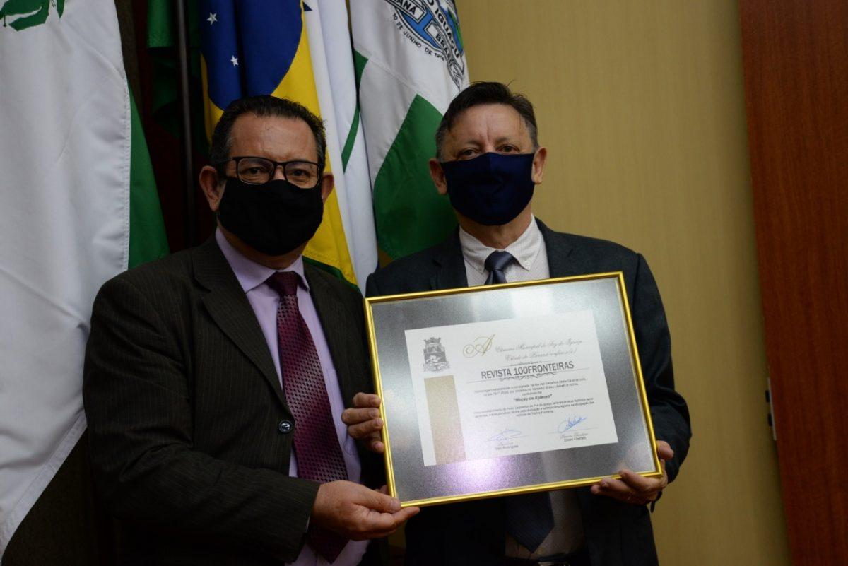Elizeu Liberato e Carlos Grellmann