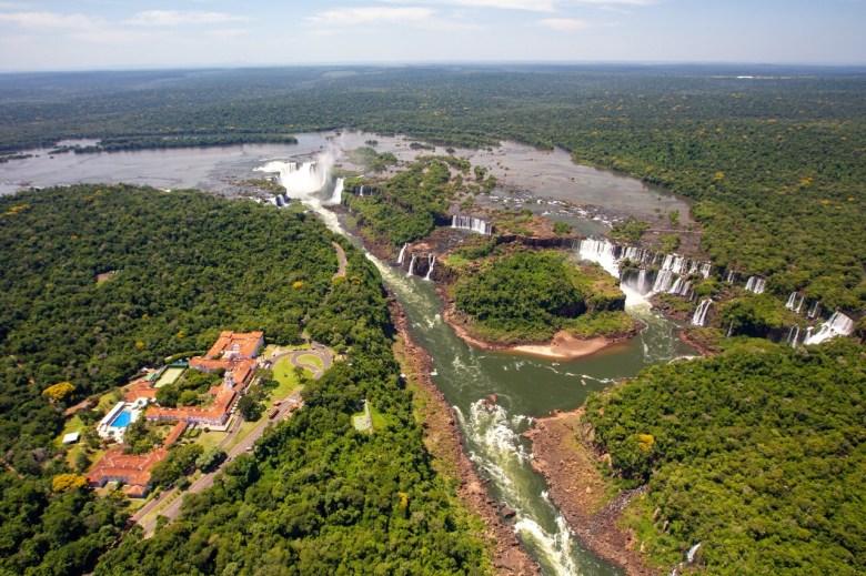 Cataratas do Iguaçu vista de cima