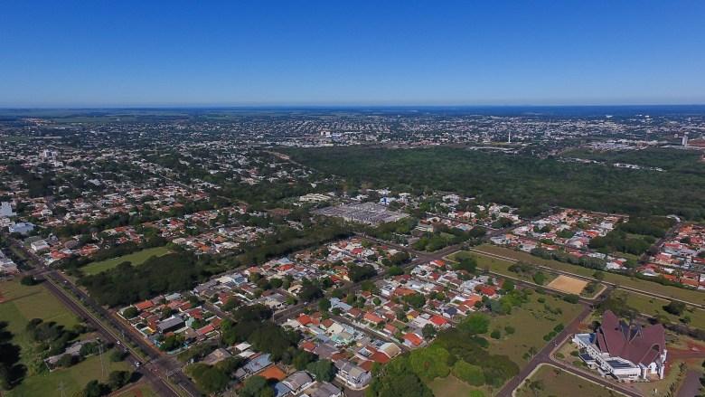 Imagem aérea da Vila A