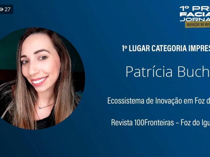 Patrícia Buche prêmio faciap