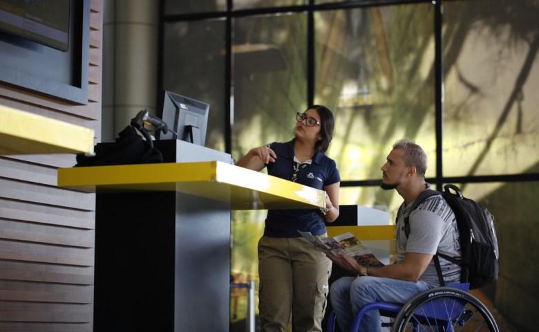 Turismo inclusivo Itaipu Binacional