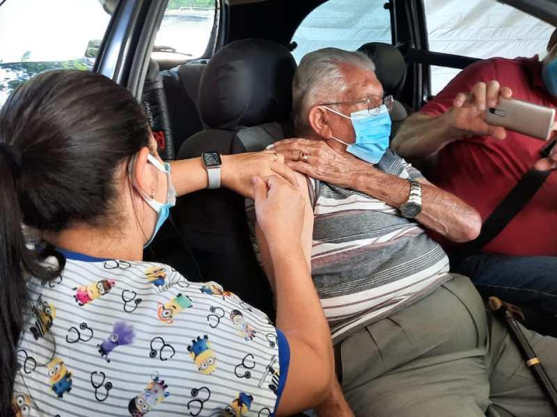 Vacinação da Covid em Foz