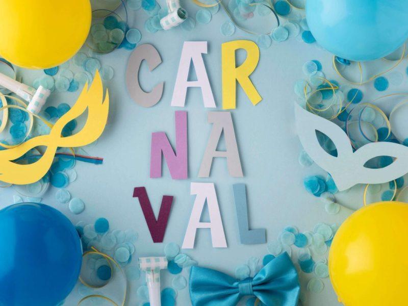 enfeite de carnaval