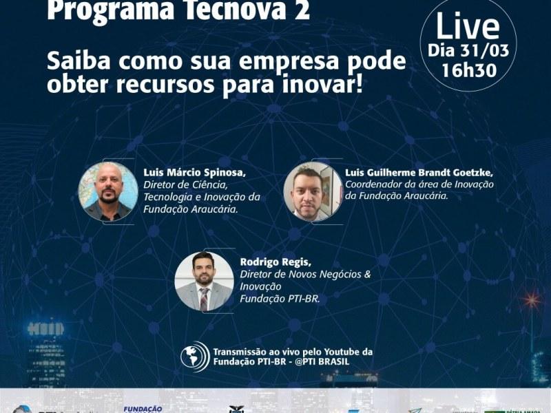 pti-fundacao-araucaria-live-programa-tecnova