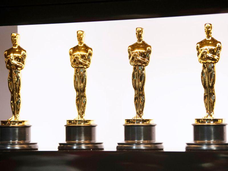 Estatuetas do Oscar nos bastidores durante a 92ª premiação da Academia Matt Petit-Handout
