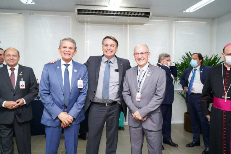 General Silva e Luna, Presidente Bolsonaro e General João