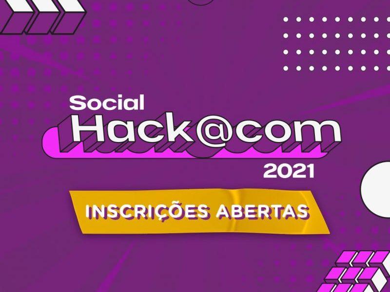 Inscrições abertas para o HackaCom