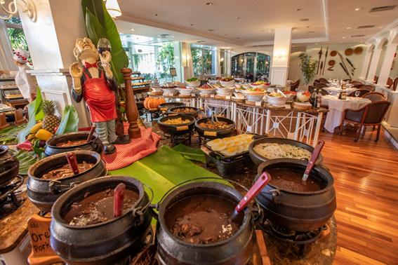 Delivery: Bourbon Cataratas do Iguaçu Resort tem sua tradicional feijoada para entregas