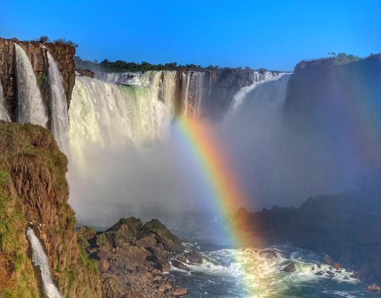 Arco Iris Cataratas do Iguaçu