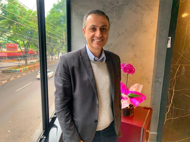 Faisal - presidente da ACIFI