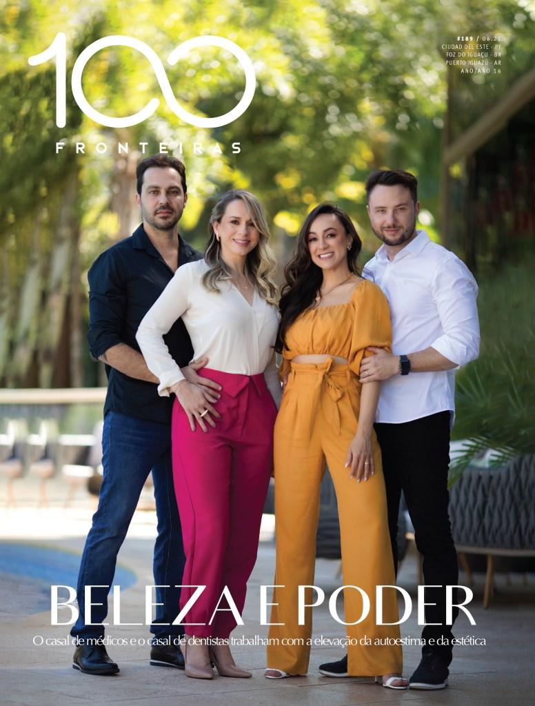 Capa da Revista 100fronteiras de junho 2021