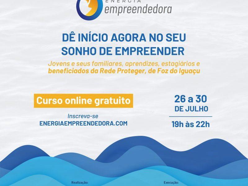Itaipu e parceiros abrem inscrições para curso gratuito de empreendedorismo