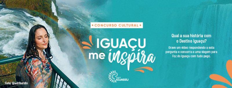 """Concurso Cultural """"Iguaçu Me Inspira"""""""