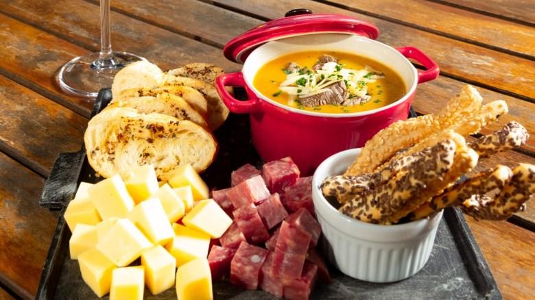 Restaurante Cabeza de Vaca, localizado no Marco das 3 Fronteiras/foto: divulgação.